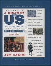 A History of US: Making Thirteen Colonies, 1600-1740 2 by Joy Hakim (2007, Pape…