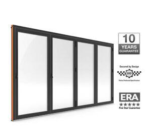 Warmcore Bi-Fold Doors 4 pane £3000