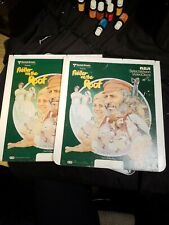 RCA Selectavision movie Video Disc Fiddler On the Roof Parts 1&2 Two DISC