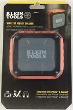 Klein Tools AEPJS-1 Wireless Jobsite Speaker for iPhone & Android ~ Brand New