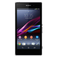 Sony Xperia Z1 C6916 Unlocked GSM 32GB Android 4G LTE Black Waterproof *MINT