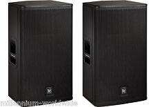 NEW - PAIR - ELECTRO-VOICE ELX115P - 15-INCH 2-WAY POWERED SPEAKER - 1000W / EV