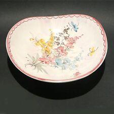 Ulmer Keramik Wandteller Sammelteller Floral (1)