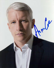 Anderson Cooper signed authentic 8x10 photo COA