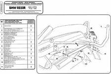 635F GIVI ATTACCO BAULETTO MONOKEY-MONOLOCK per BMW R 1100 R 1999 2000 2001