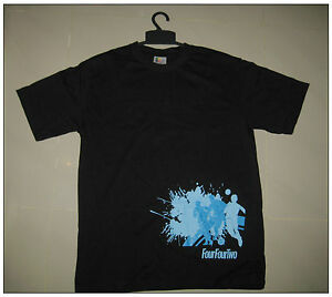 FOUR FOUR TWO 442 T Shirt Football Size M Black special Edition NEW