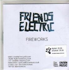 (CA951) Friends Electric, Fireworks - 2010 DJ CD