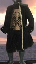 Renaissance Velvet MENS PIRATE Vampire Chenille DOUBLET JACKET COSTUME All Sizes