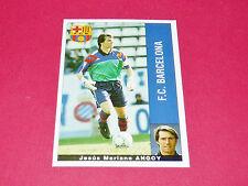 JESUS MARIANO ANGOY FC BARCELONA PANINI LIGA 95-96 ESPANA 1995-1996 FOOTBALL
