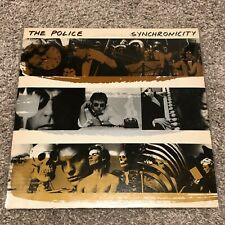 The Police - Synchronicity - ULTRA RARE Gold Silver Bronze cover - vinyl LP
