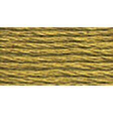 DMC 117-370 Mouline Cotton Six-Strand Floss Thread, Medium Mustard