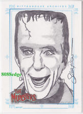 "2005 THE MUNSTERS HAND-DRAWN SKETCH SKETCHAFEX CARD - ""HERMAN"" BY SEAN PENCE"