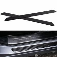 2PCS Real Carbon Fiber Car Scuff Plate Door Sill Cover Protector Guard Firmly