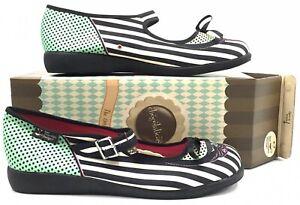 Hot Chocolate Design Chocolaticas DAFNE Womens 38 (8 US) Mary Jane Flats Shoes