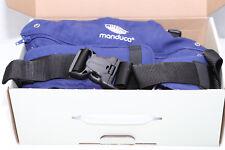 manduca - Babytrage Bauchtrage Hüft- und Rückentrage PureCotton, blau