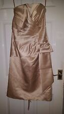 Womens Sleeveless Maxi Dress - Bing Bing - Chinese China - Gold - BNWT - 14