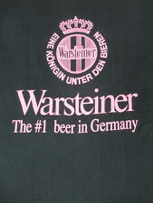 VINTAGE WARSTEINER - #1 BEER IN GERMANY - LARGE - BLACK T-SHIRT- N1998