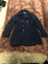 boden wool coat navy uk 14