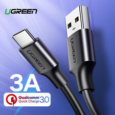 Ugreen USB-C Type C Phone Data Charger Fast Charging Cable for Samsung S10 0.25m