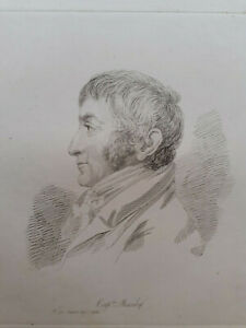 Mary Dawson Turner Palgrave portrait etching Captain Manby George William