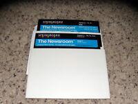 "The Newsroom Apple II+ IIe, IIc, IIGS Program 5.25"" floppy disk Near Mint"