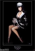 Olivia de Berardinis Maid Bettie (Bettie Page) Poster 30 x 22-1/2