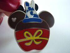 DISNEY PIN  2015 MICKEY MOUSE SORCERER CANDY APPLE HIDDEN MICKEY PRETTY!!!!