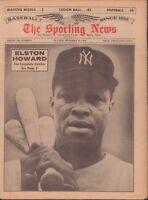 The Sporting News Magazine September 12 1964 Elston Howard 091117jhsn