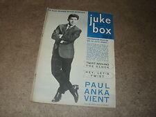 JUKE BOX 084 (1/10/63) ELVIS PRESLEY ADAMO SAPHIRS SYLVIE VARTAN SHEILA DISTEL