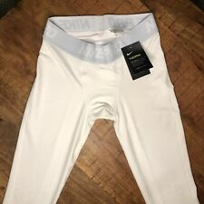 Nike Pro Therma Tights Mens Size XL Dri Fit White 929711 100