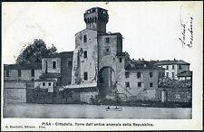 1900 - Pisa - Cittadella. Torre dell'Antico arsenale della Repubblica