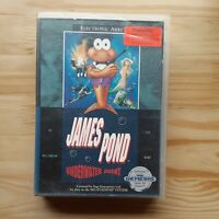 James Pond: Underwater Agent Sega Genesis
