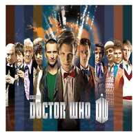 Doctor Who Doctor Collage Tin Sign