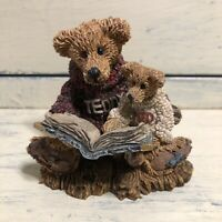 Boyds Bear & Friends Storytime Figurine 1993 Ted and Teddy #2223