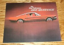 1965 Ford Mustang Sales Brochure 65 GT Fastback 2+2