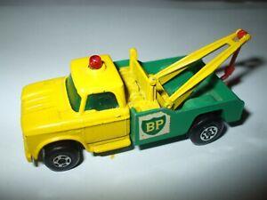 Matchbox Lesney Superfast #13 Dodge Wreck Truck RARE MALTESE WHEELS VNMINT!