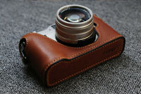 Funper Genuine Leather Half Case For Contax G1 Camera Protector