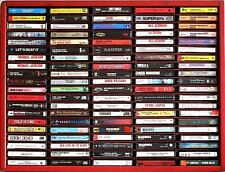 Cassette Tapes {Listing #1}>Classic Rock/Metal/Pop/Soul>Ex>Wi th Discounts