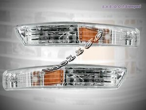 Fit For 1998 1999 2000 2001 ACURA INTEGRA BUMPER LIGHTS CLEAR