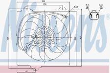 Nissens 85242 Radiator Fan RAV 4 (00-)
