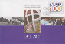 CANADA #S88 WILFRID LAURIER UNIVERSITY (1911-2011) SPECIAL EVENT COVER