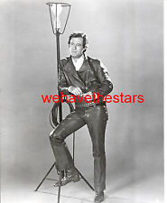 Vintage Robert Culp SEXY IN TIGHT LEATHER PANTS & JACKET 60s Publicity Portrait