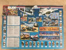 Gijoe 1989 Poster catalogue checklist hasbro (benelux german) tigerforce