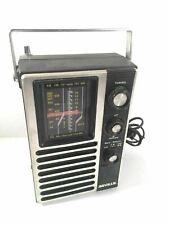 Seville Vintage Radio TV Band Weather Band Model 2201 Made In Hong Kong