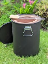 Mini Portable Tandoor Clay Oven - Small Tandoori Drum BBQ - Tandoori Food - Naan