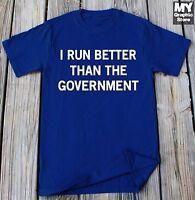 Running T-shirt Birthday Christmas Gift Gym Workout Yoga Marathon Runner Shirt