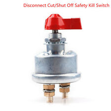 Car 2 Post Battery Terminal Quick Disconnect Cut/Shut On Off Safety Kill Switch