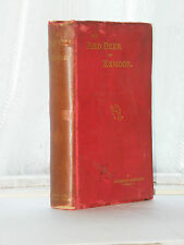 A Hamilton - The Red Deer of Exmoor 1st Edition 1907