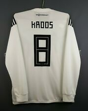 5/5 Kroos Germany jersey large 2018 long sleeve shirt BR7830 Adidas ig93