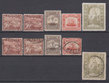 Malta 1899/01 Mint Mounted & Used Sets to 2/6